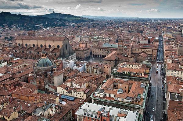 Panorama Bolonje